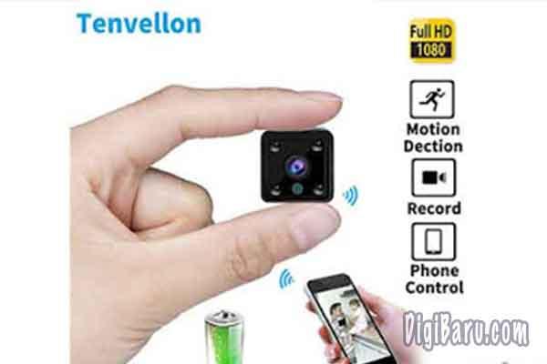 Tenvellon Mini WiFi IP Camera