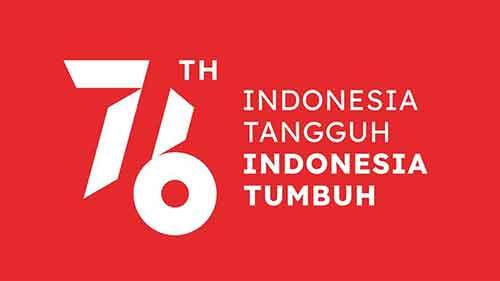logo hut ri 76 merah