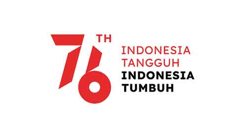 logo hut ri 76 putih